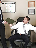 Horny office guys have a break