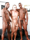 Black-asian gay trio
