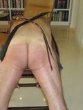 Spanking stool.