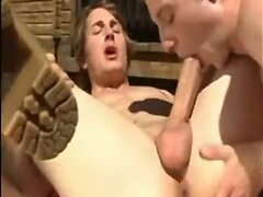 Wild gay anal outdoors