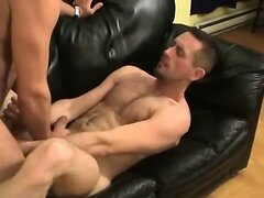 Gay asshole plowing that sizzles