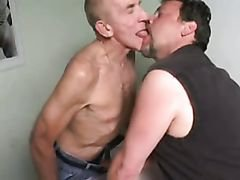 Old guys in group sex