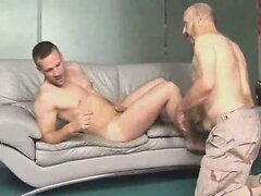 Old military man fucked