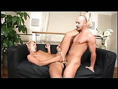 Daddy nails cute blonde guy