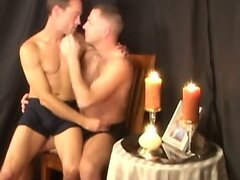 Passionate fuck with gay couple