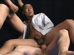 Japanese fuck and cumshots