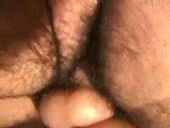 Close up on gay anal