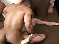 Hard body black guys fuck