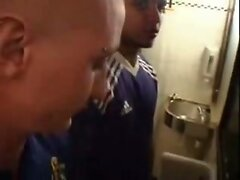 Dirty fuck in a toilet.