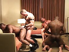 Gay studs fucking and gets big creampie