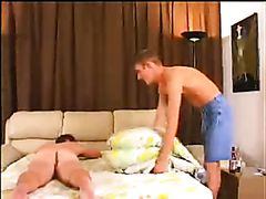 Straight guy fucked after playing poker