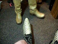 David Keller of Cleveland Frye and Dehner boots cums