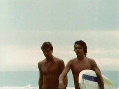 Different retro gay scenes