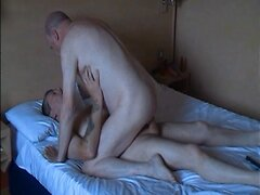 Mature gay fuck in the bed