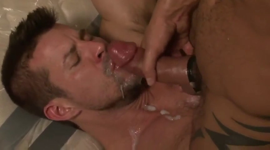 Gay Monster Cock Facial