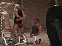 Gym Buddies Get Each Other Off