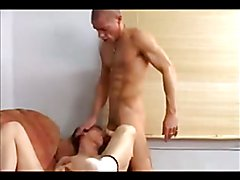 Daddy fucks his boy