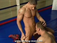 Two Muscle Hunks Having Sex