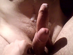 Cock on Cock - frot frottage