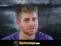 GayCastings Macho Muscular Texas Bartender Logan