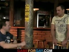 Barman`s first gay sexual experience
