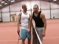 Tennis Court Fuck