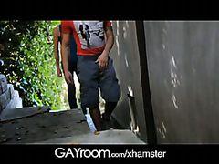 GayRoom Dirty alley fucked sweaty hard