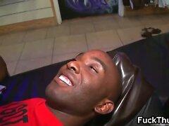 Black guy rimmed in public