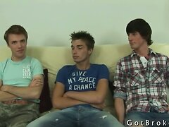 Straight boys on the couch