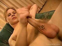 Feminine boyz pounded
