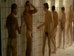 Naked shower with hot boys