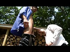 woodshed sex (David Anthony and Troy Daniels)