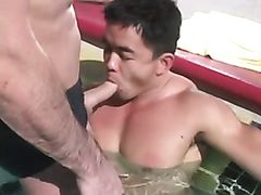 Dave Angelo and Lee Young