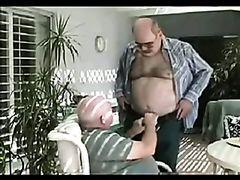Daddy Bear sucking