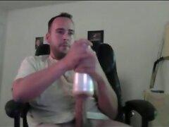 Olive Cock Fucks Fleshlight Hard