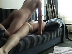 Experimenting with my friend on the Couch - Straight Guys
