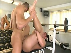 horny workout (Eric Richter and Lucas Sigmund)