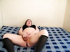 Chubby Femboy Huge Cock Dildos and Cums