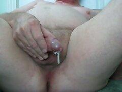 circumcised masturbation with enema