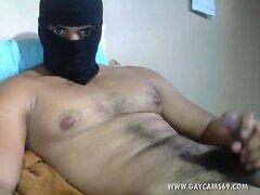 Hot egyptian arab huge dick jerking