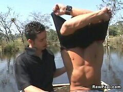 Sexy Latino Gets His Tight Ass Rammed Hard