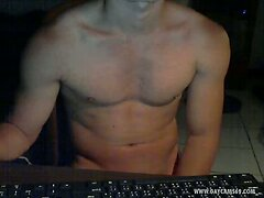 Young Perfect Body Muscled Straight