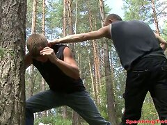Young gay receives brutal punishment video