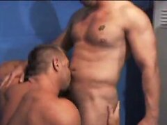 Cops in the Locker Room  scene 2