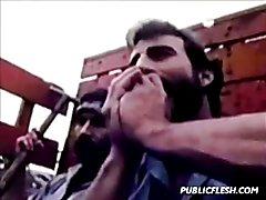 Retro Gay Prison Hardcore  scene 2