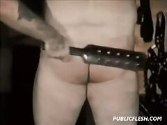 Retro Gay Bear Spanking  scene 2