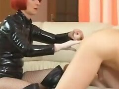 Redhead BDSM anal Fisting torture rough