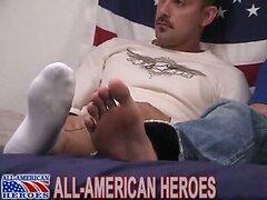 Beefy guy fucks hot ass