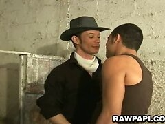 Latin hunk feed his gay partners