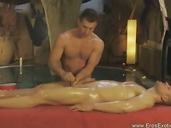 Gentle But Firm Genital Massage